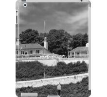 Fort Mackinac BW iPad Case/Skin