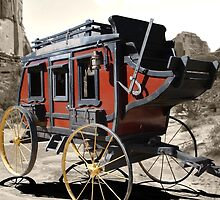 Southern Stage Lines Stagecoach by debidabble