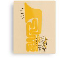 Tuba Bug Metal Print