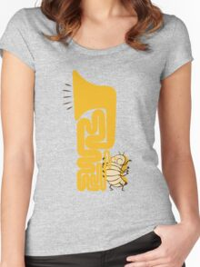 Tuba Bug Women's Fitted Scoop T-Shirt