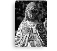 Saint Mary 1 BW Canvas Print