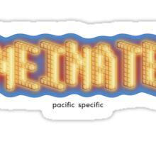pacific  Sticker