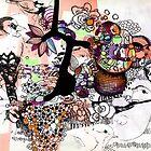 birds drawing by Randi Antonsen