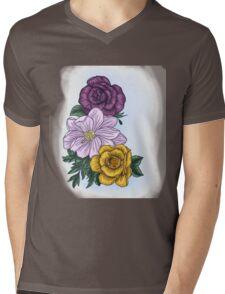 Flora Mens V-Neck T-Shirt