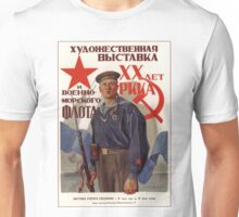 Soviet Propaganda - Art Exhibition: 20 Years of the Red Army (1938) Unisex T-Shirt