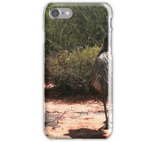 Blending in with the bush at Monkey Mia iPhone Case/Skin