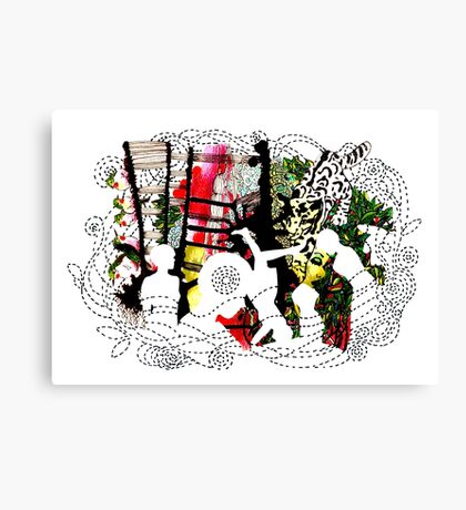 in the jungle 2 Canvas Print