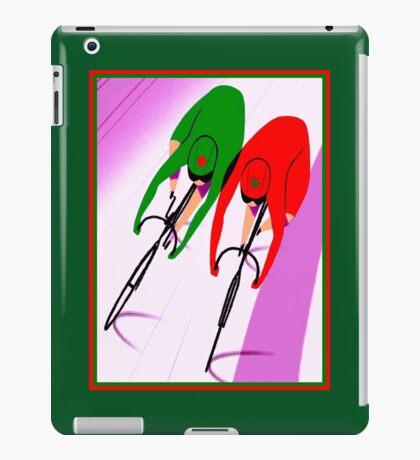 WOMENS TRACK BICYCLE: Racing Print iPad Case/Skin