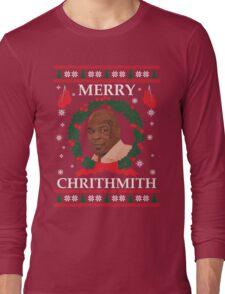 Mike Tyson Merry Chrithmith! Long Sleeve T-Shirt