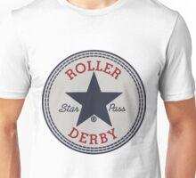 """""""Star Pass"""" Roller Derby logo Unisex T-Shirt"""
