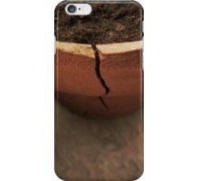 A Crack in the Terra Cotta iPhone Case/Skin