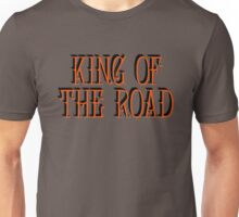 king of the road song lyrics hippies biker cool wild hippie van t shirts Unisex T-Shirt