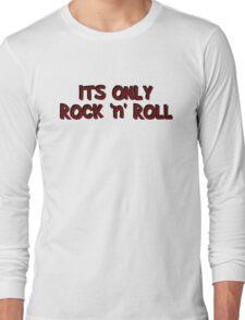 only rock n roll rocker cool led zeppelin punk rock pop star rebel biker hippies hippie punk rock cool t shirts Long Sleeve T-Shirt