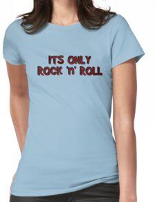 only rock n roll rocker cool led zeppelin punk rock pop star rebel biker hippies hippie punk rock cool t shirts Womens Fitted T-Shirt