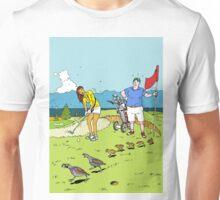 A surprise on the golf course Unisex T-Shirt