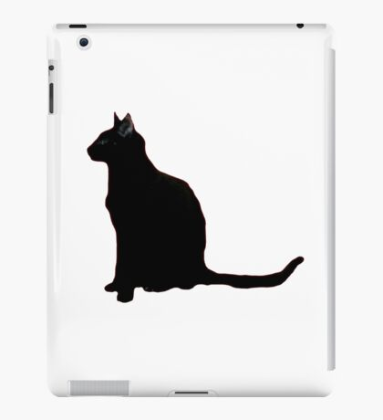 IF YOU LOVE A BLACK CAT iPad Case/Skin