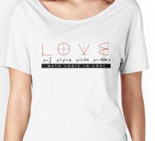 Math Logic in Love Women's Relaxed Fit T-Shirt