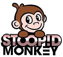 Stoopid Monkey by changetheworld