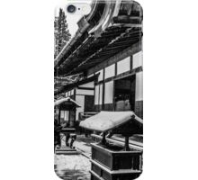 Prayers at Koya iPhone Case/Skin
