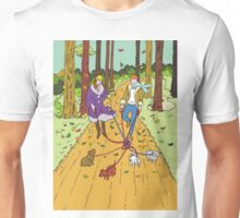 Walking the dogs Unisex T-Shirt