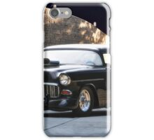 1955 Chevrolet 'One Sinister Chevy' iPhone Case/Skin