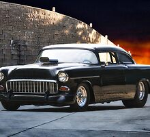 1955 Chevrolet 'One Sinister Chevy' by DaveKoontz
