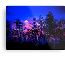 Another Blue Night Metal Print