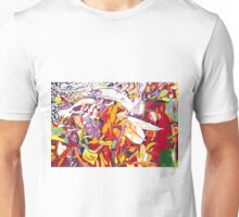 Meeting Place, Flecker Gardens Unisex T-Shirt
