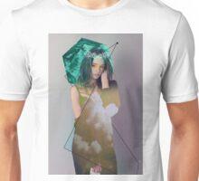 Hexagons + Roses Unisex T-Shirt