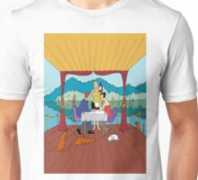 Dinner with a view Unisex T-Shirt