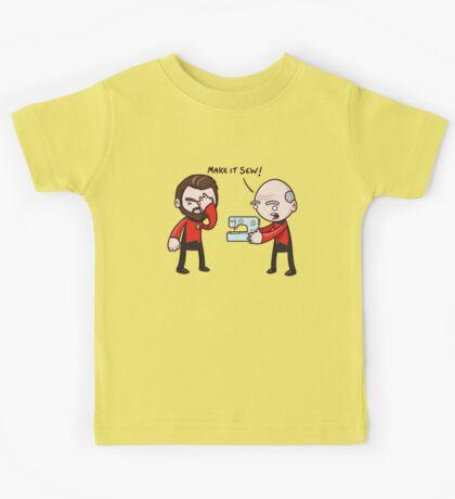 Make It Sew! - Star Trek Inspired Kids Tee