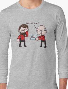 Make It Sew! - Star Trek Inspired Long Sleeve T-Shirt