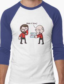 Make It Sew! - Star Trek Inspired Men's Baseball ¾ T-Shirt