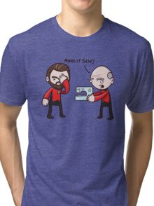 Make It Sew! - Star Trek Inspired Tri-blend T-Shirt