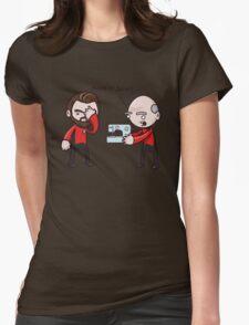 Make It Sew! - Star Trek Inspired Womens Fitted T-Shirt