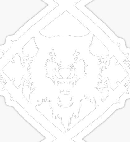 Xavier Wulf Sticker