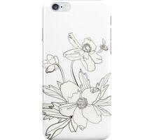 Bunch of spring anemones iPhone Case/Skin
