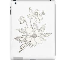 Bunch of spring anemones iPad Case/Skin