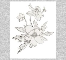 Bunch of spring anemones One Piece - Long Sleeve