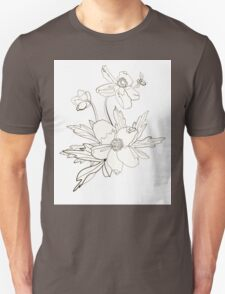 Bunch of spring anemones Unisex T-Shirt