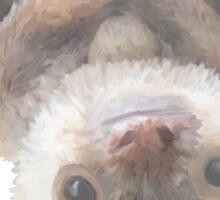 sloth on a vine Sticker
