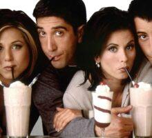 friends- milkshakes Sticker