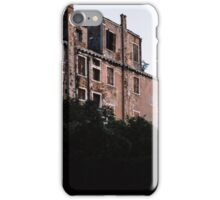 Building by Canal Venice Italy 19840729 0070M  iPhone Case/Skin
