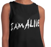 I am alive Contrast Tank