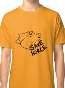 Save Horce  Classic T-Shirt