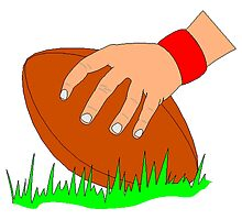 Football Snap by kwg2200