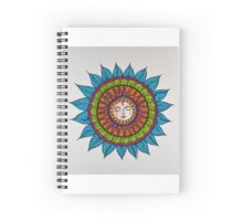 Sun Face Mandala1 Spiral Notebook