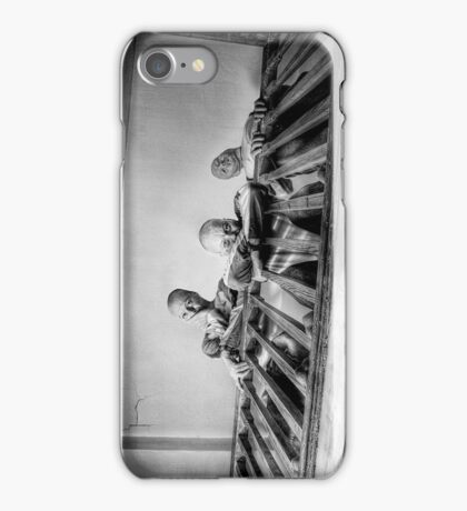 Three stares downstairs iPhone Case/Skin