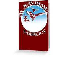 San Juan Islands, Washington Greeting Card
