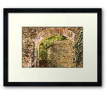 The old Iron works Framed Print